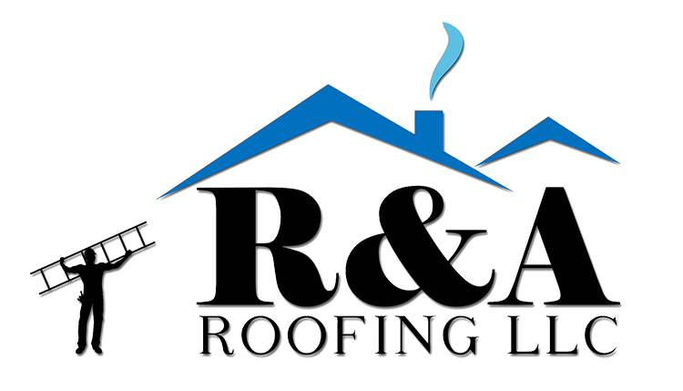 R&A Roofing Transparent Logo